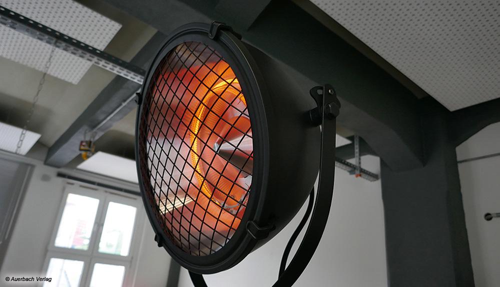 Der Blumfeldt 10033104 sieht nicht nur stylish aus, sondern kann die Wärme dank schwenkbarem Kopf zielgerichtet abgeben