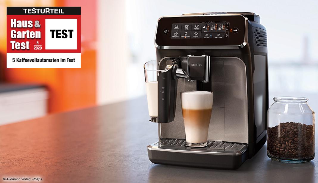 Test Kaffeevollautomaten 2020