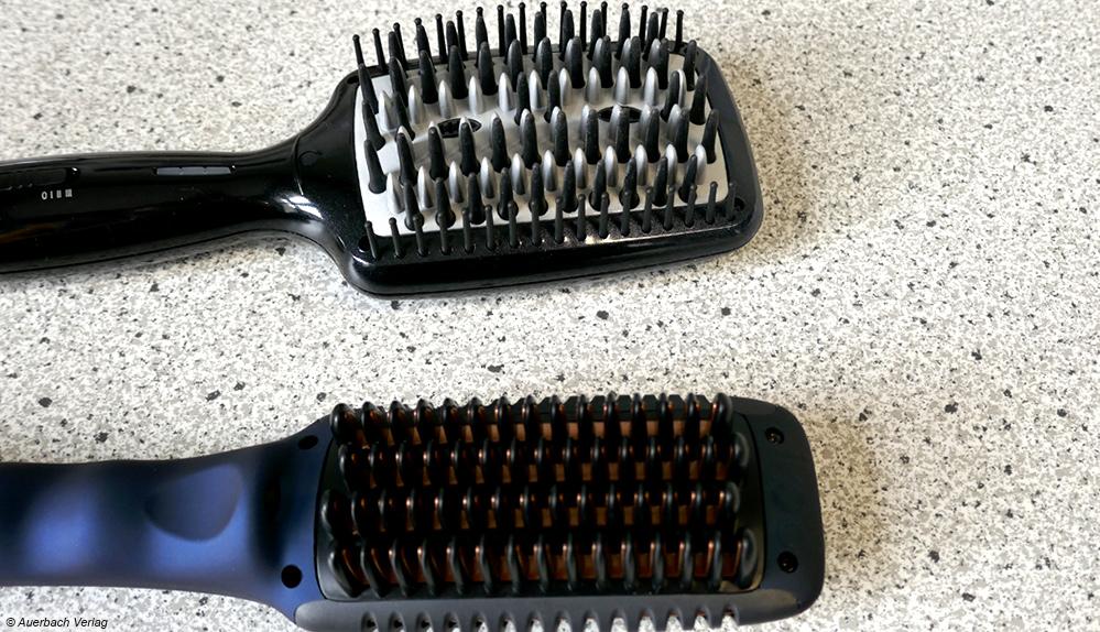 Wie stark das Bürsten ziept, hängt nicht nur von Haartyp und -pflege ab. Bei BaByliss ärgern die Noppen etwas mehr