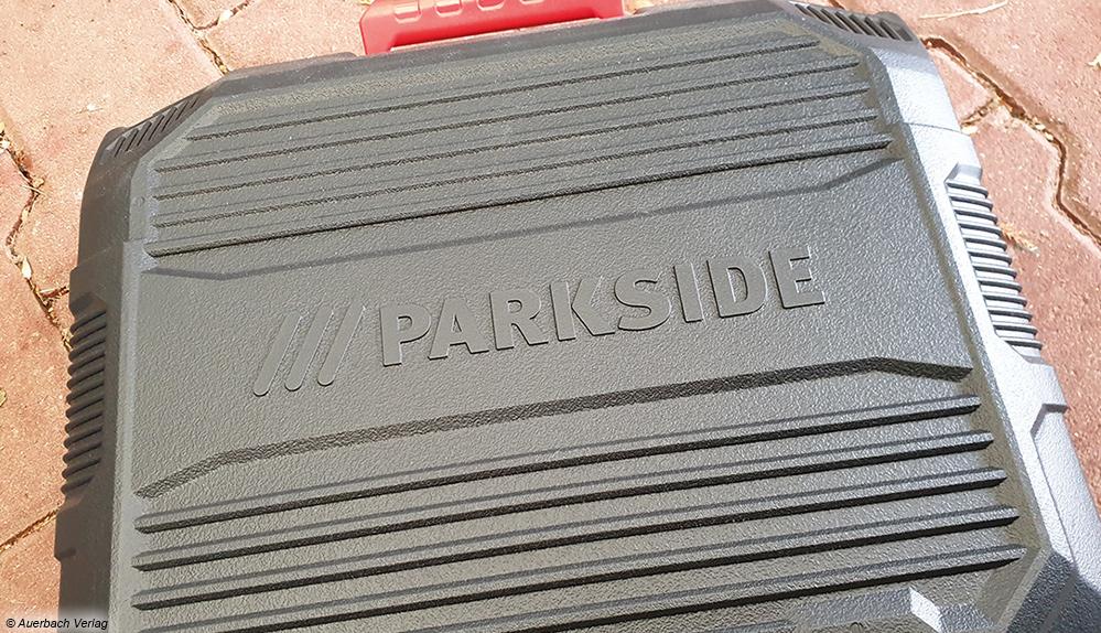 Besonders praktisch: Parkside und Worx liefern zu ihren Geräten gleich einen robusten Transport- und Aufbewahrungskoffer mit