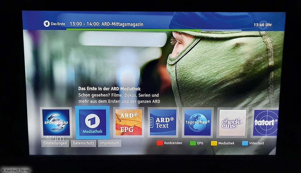 Der Hybriddienst HbbTV ermöglich die zeitversetzte Wiedergabe von Inhalten