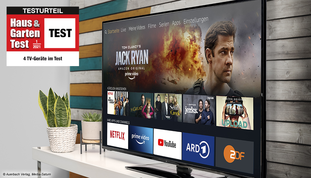 Fernseher TV-Geräte Test 2021