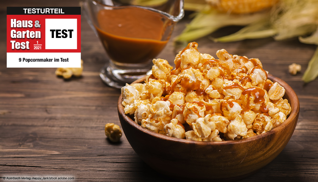Popcornmaker Test 2021