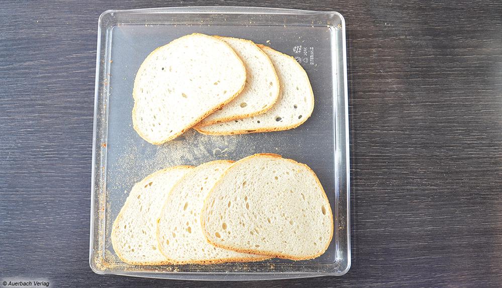 Ob dünne oder dicke Scheiben, der SKS500 von Graef schneidet Brot dank seines scharfen Messers immer perfekt gleichmäßig