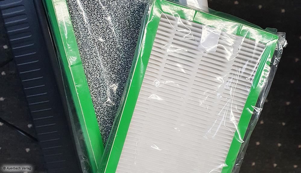 Kernstück der allermeisten Luftreiniger sind die speziellen Luftfilter, die es in unterschiedlichen Bauarten und Ausführungen gibt