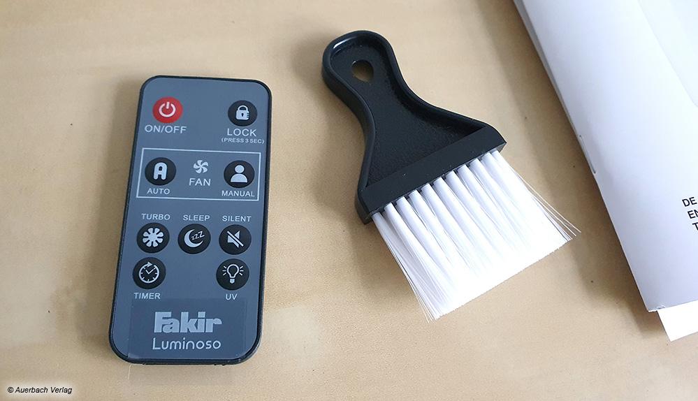 Wichtig ist eine regelmäßige Reinigung der Geräte, da sich in den Ritzen schnell angesaugter Staub festsetzt
