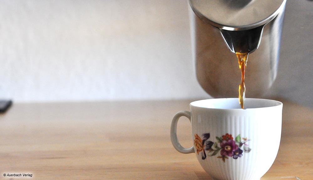 Die breite Tülle des Groenenberg-Kaffeebereiters ermöglicht ein perfektes Ausgießen ohne zu kleckern