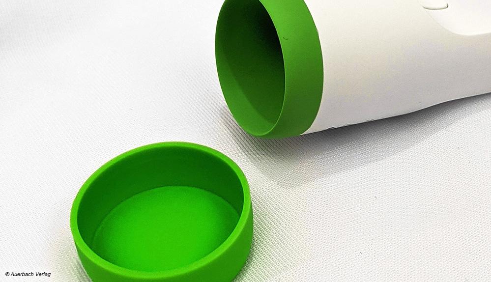 Einige Hersteller liefern Schutzkappen für ihre Fieberthermometer mit, um die Sensorik vor äußeren Einflüssen zu schützen
