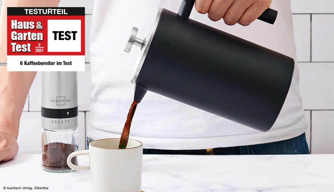 Test Kaffeebereiter French Press 2021