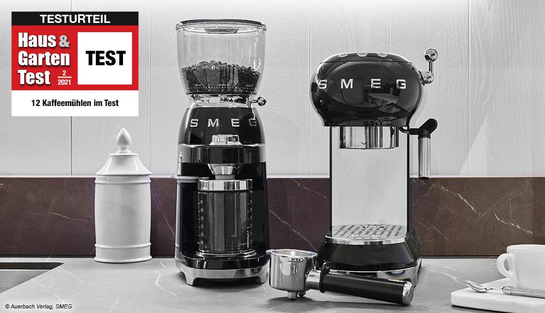elektrische Kaffeemühlen Test 2021