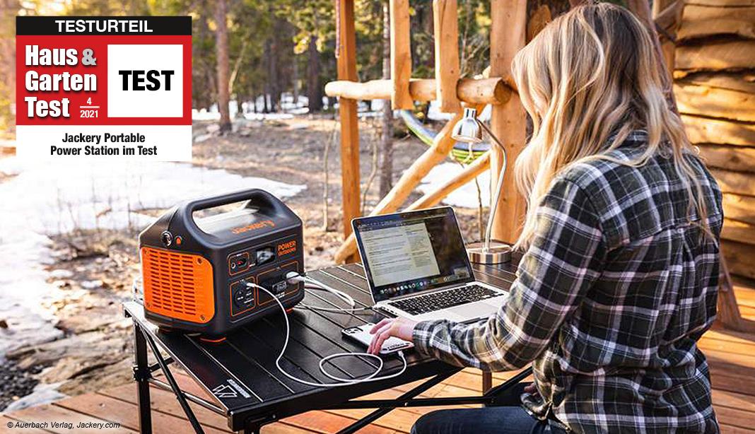Test Jackery Explorer 500 Startbild