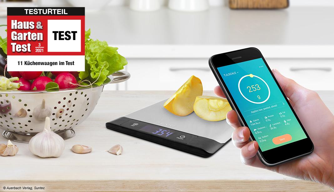 Test digitale Küchenwaage 2021