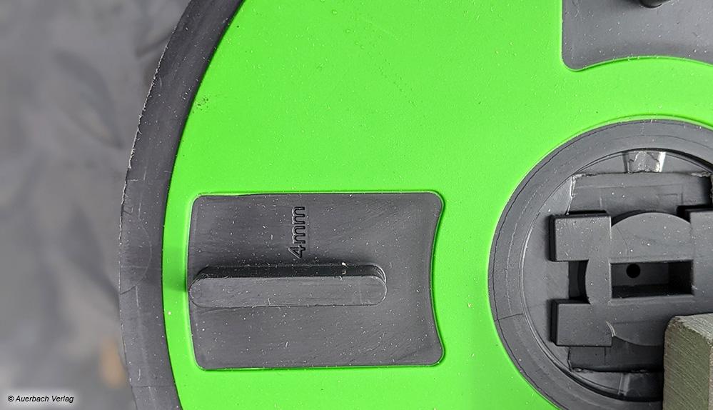 Die Fugenstege können von 2 bis 10mm bestellt oder für andere Verlegearten auch einzeln weggelassen werden