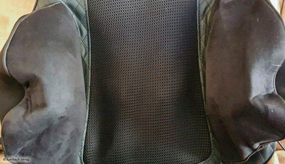 Seitliche Air-Bags sorgen für wohltuende Massage im Bereich der Hüfte