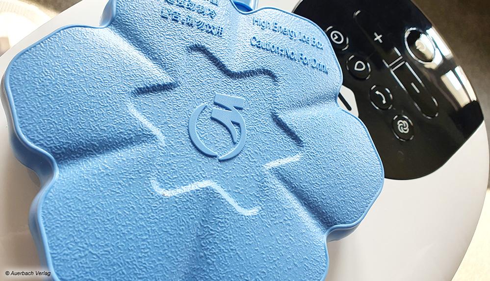 Besonders Cool: Kühlakkus aus dem Eisfach sollen die Ventilatorluft abkühlen und für einen extra Klimaeffekt sorgen