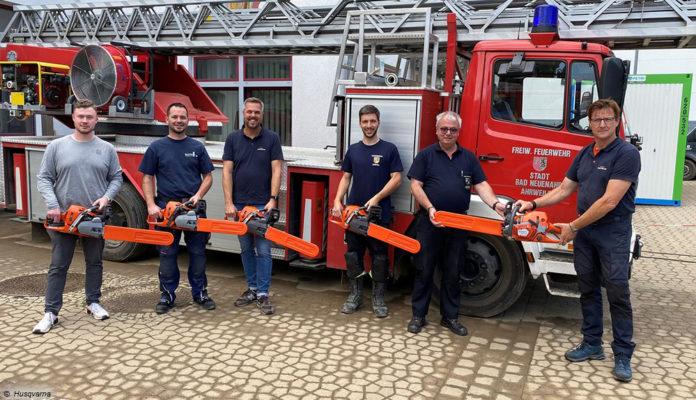 Husqvarna Spende _ Freiwillige Feuerwehr Bad Neuenahr