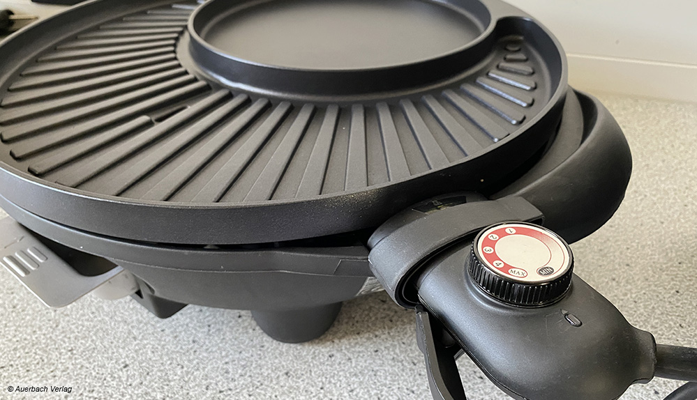 Mehrere Hersteller setzen auf einen Temperaturregler in dieser Bauweise. Die Hitze lässt sich hiermit stufenlos regeln