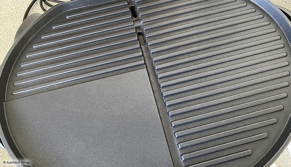 In Bezug auf die Grillplatte bieten die Hersteller kreative Aufteilungen: Die klassische Grillform und flache Bereiche sind immer dabei