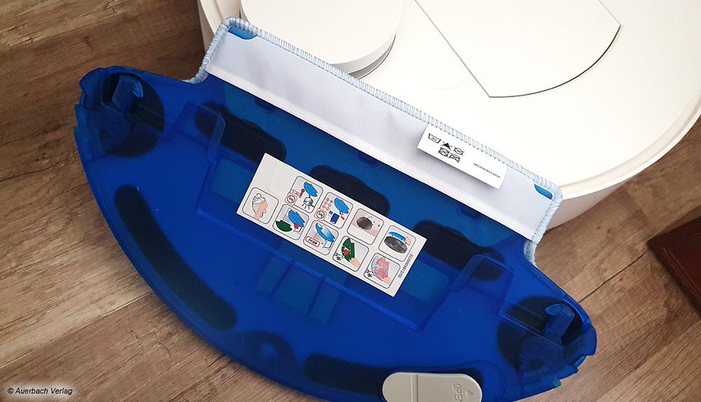 Zusätzliche Wassertanks (hier von Rowenta) erlauben bei vielen Geräten auch das nasse Durchwischen der Räume
