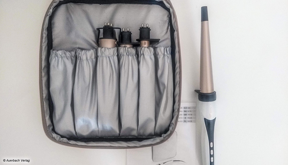 Die vielen Zubehörteile bei Eta können in einer hitzegeschützten Tasche sicher und gut sortiert aufbewahrt werden