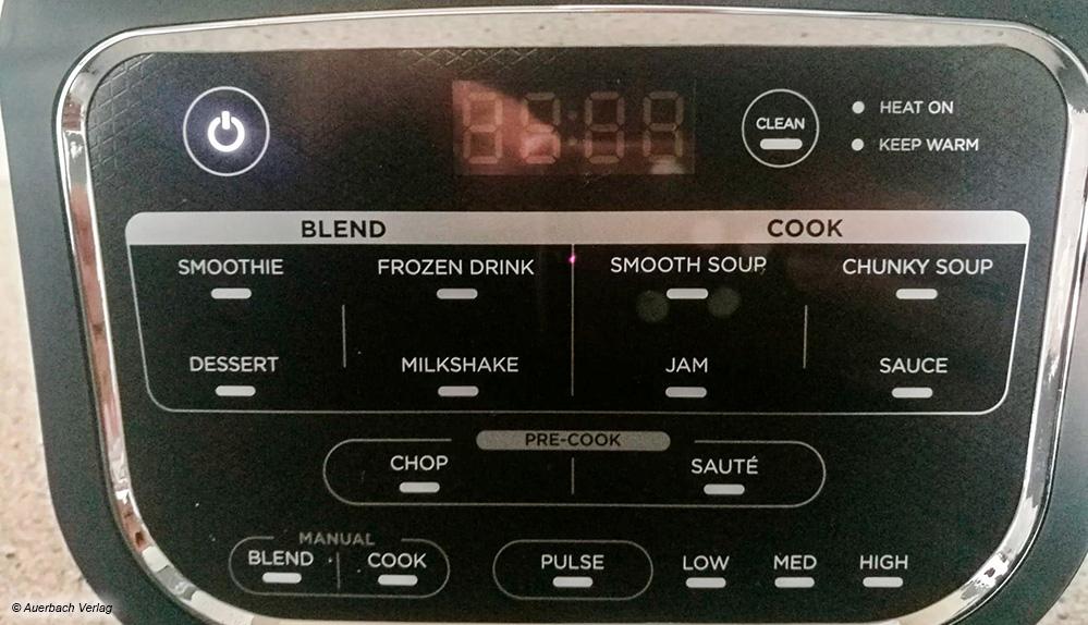 Das Gerät aus dem Hause Ninja hat an Funktionen einiges zu bieten und bringt Abwechslung in die Mixküche